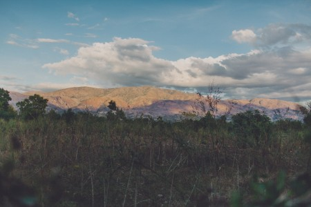 Landscape in Dèsarmes, Haiti